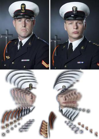 gewapende man nos